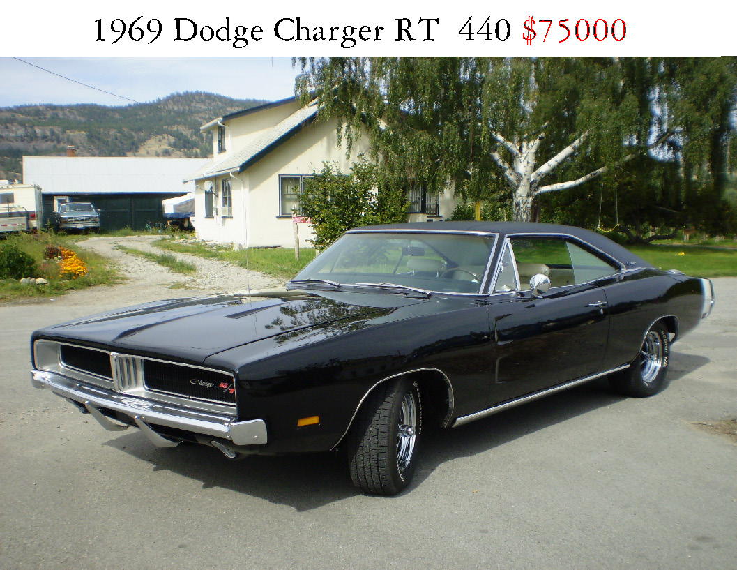 1969 charger sale